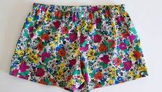 Sew Pajama Shorts - Easy Project with Free Pattern