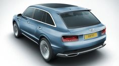 Bentley has a SUV! Bentley EXP 9 F, just your everyday 600-hp ultra luxury SUV concept.
