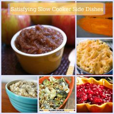 JUST UPDATED: 14 Satisfying Slow Cooker Side Dishes + Bonus Baked Slow Cooker Sweet Potatoes
