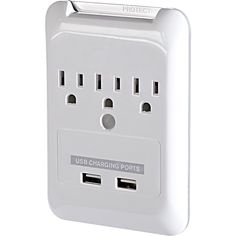 Plug-N-Power Charging Station with USB Charging Ports
