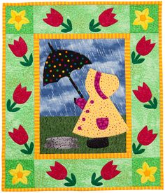 Martingale - Year in the Life of Sunbonnet Sue, A (Print version + eBook bundle) Spring