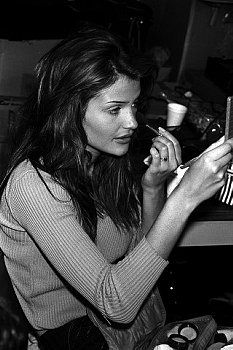 Helena Christensen, Perry Ellis by Marc Jacobs show 1993