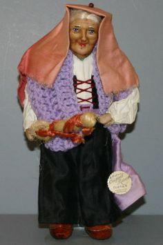 """Ravca"" Cloth Doll 'Peasant Woman' | eBay"