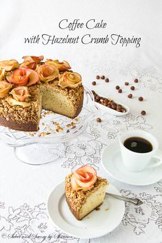 Apple Roses coffee cakes, dessert recip, food, cake desserts