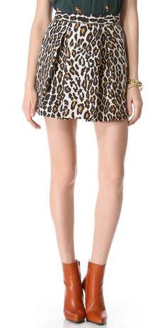 leopard mini, cloth, leopard skirt, anim print, fashion center, sea, animal prints, fashion looks, heart jacket