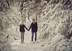 If the engagement allows, take some winter engagement shots.  Lots of opportunity to involve the in the save the dates or wedding announcements, or even incorporate black and whites into your event decor!