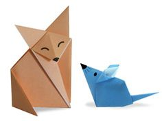 Lots of Origami Animals
