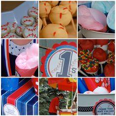 Beth Kruse Custom Creations: baseball party