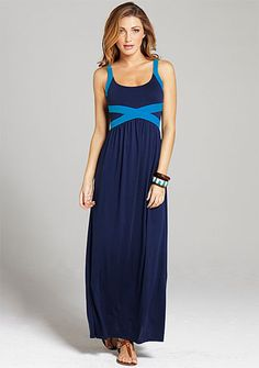 Carlina Knit Maxi Dress at Alloy