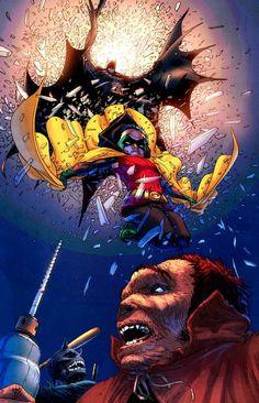 Frank Quitely - Batman and Robin