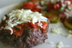 24/7 Low Carb Diner: Pizza Burger Patties