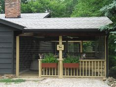 Outdoor dog kennels. Kore K9 Kennels