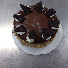 Ginger almond bark gateau