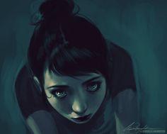 Charlie Bowater Digital Art / Drawings / People