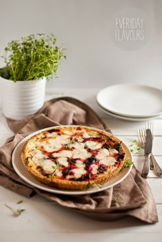 Beetroot and goat cheese tart | everyday flavours