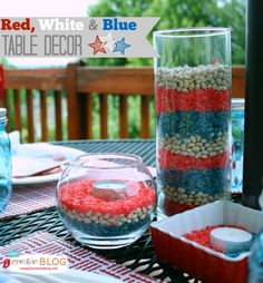 EASY Red, White & Blue Patriotic Decor
