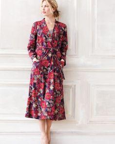 Knit Kimono Robe
