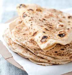 Basic Spelt Flatbreads (recipe by Liezel Norval-Kruger) on Taste-dare we try spelt again since we now know we're not celiac? May be worth a try to expand our diet.