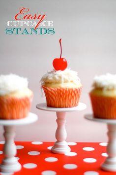 DIY Mini Cupcake Stands