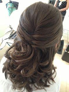 Wedding Hair styling by Fordham Hair Design Gloucestershire  ... Autumn/Winter wedding hair styling update standedamt frisur?