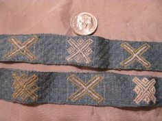 Brocaded Tablet-woven band by Alys
