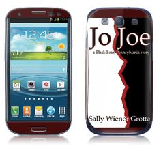 """Yesterday, at the Jewish Book Council annual conference (where I was speaking about my novel """"Jo Joe""""), I met a fellow author who had a custom cover for her phone with her book cover. I loved the idea, so I just ordered one from Gelaskins."""