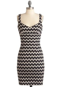 I own this dress and it is sooo flattering- I'd love to get more zig zag patterns. It's almost like I have hips in this dress!!!