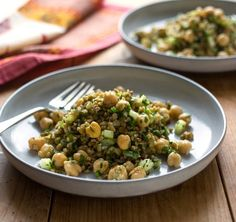 Freekeh, Chickpea an