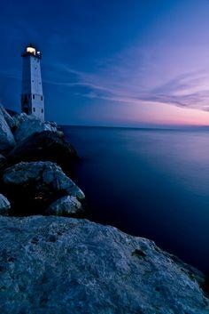 Frankfort Lighthouse, Michigan, United States