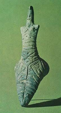The State Hermitage Museum: 4th millenium BC, Ukraine , Female Figurine