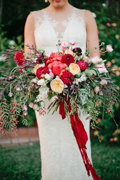Garden Romance Wedding Inspiration