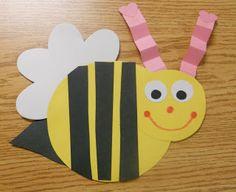 Mrs. Kimbrell's Kindergarten: Valentine Bee Glyph