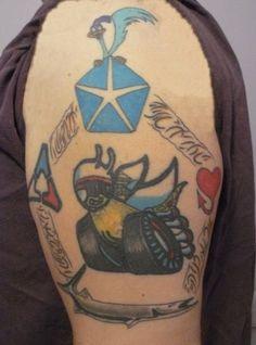 mopar tattoo, steve tat
