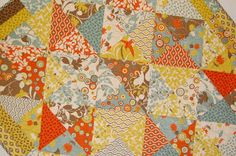 """Moda Bake Shop: Lap Quilt """"In a Jiffy"""""""