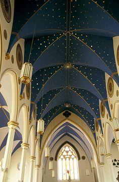 Saint Simon Jude Catholic Church, Tignish, Prince Edward Island, Canada