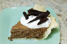 Pioneer Woman French Silk Pie - made this for Thanksgiving, SO good and so easy! Definitely my go-to chocolate pie recipe from now on!