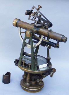 Antique Surveying Tools