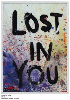 ANIKA LORI, LOST IN YOU 2009: happy painting.