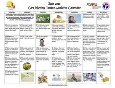 i like the idea of activity calendar. Something to show parents. Should have at least 1 indoor & 1 outdoor activity for weather purposes, and coincide with weekly/daily lesson themes.