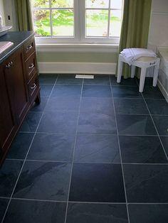 Dark Slate Floor