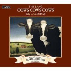 cow wall, dairi cow, wall calendar, cow cow, 2012 cow