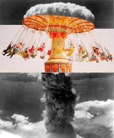 famili, bomb, ashley joseph, art, collages, carousel, joseph edward, ashley edward, photographi