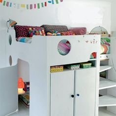 the boo and the boy: Kids' loft beds