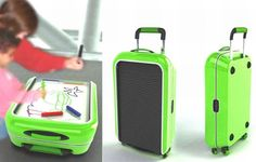 The Colored Suitcase