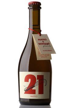 mateo-and-bernabe   #wine #spirit #label #packaging #design #taninotanino #maximum #winelabel