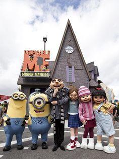 Must Ride at Universal Studios - Despicable Me Minion Mayhem