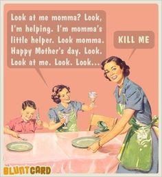 blunt cards | Motherhood Blunt Cards |