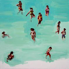 "Saatchi Online Artist: Corrado Zeni; Oil, 2011, Painting ""Acqua"" #art"