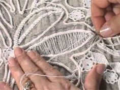 Romanian Point Lace Crochet video