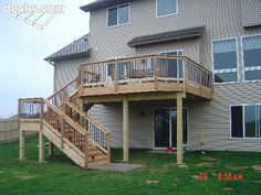 Cedar Deck Aluminum Spindles and Deck Lighting